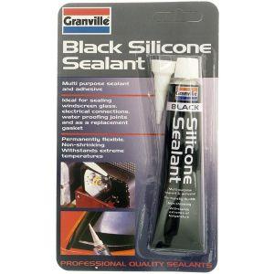 Silicone Sealant - Black - 40g