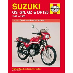 Motorcycle Manual - Suzuki GS, GN, GZ & DR125 Singles (1982-2005)
