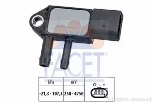 DPF (Exhaust Pressure) Sensor FACET 10.3265
