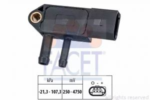 DPF (Exhaust Pressure) Sensor FACET 10.3266