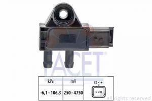 DPF (Exhaust Pressure) Sensor FACET 10.3271
