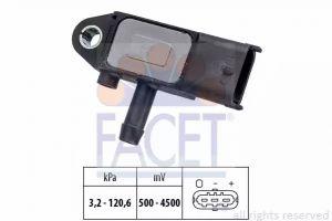 DPF (Exhaust Pressure) Sensor FACET 10.3273