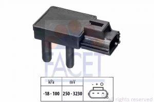 DPF (Exhaust Pressure) Sensor FACET 10.3332