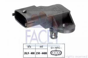 DPF (Exhaust Pressure) Sensor FACET 10.3357