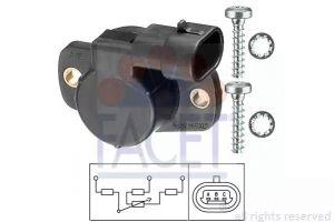 Throttle Position Sensor FACET 10.5093