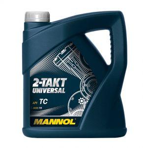 MANNOL 2-Takt Universal Mineral Based Motorcycle Engine Oil (1 Litre, 4 Litres)