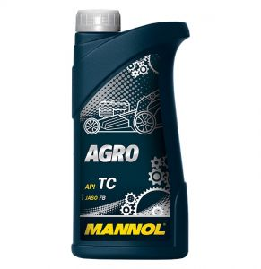 MANNOL Agro Two-Stroke Lawn Mower Engine Oil (1 Litre, 4 Litres)