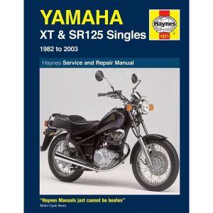 Motorcycle Manual - Yamaha XT & SR125 (1982-2003)