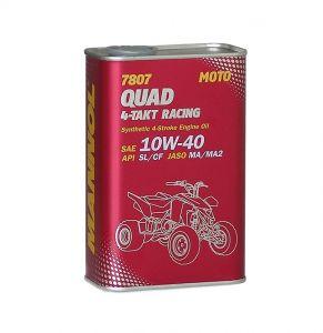 MANNOL 7807 Quad 4-Takt Racing Quad Bike Engine Oil (1 Litre, 4 Litres)