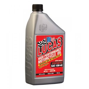 SAE 10W40 Fully Synthetic Motorcycle Oil with Moly - 946ml