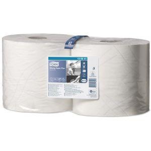 2 Ply Premium Wiping Paper Plus - White - 2 x 255m Combi Rolls