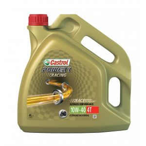 Power 1 Racing 4T  - 4 Stroke - 10W-40 - Fully Synthetic - 4 Litre