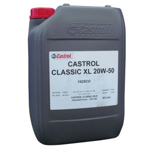 Castrol Classic Engine Oil XL20W50 - 20 Litre (For pre-1980 classic cars and motorcycles)