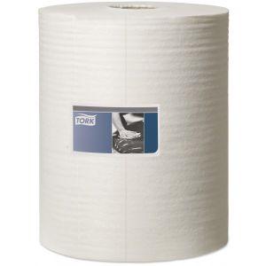 1 Ply Premium Low Lint Polishing Cloth - White - 152m Combi Roll