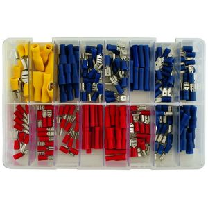 Wiring Connectors - Assorted - Slide-On - Box Qty 200