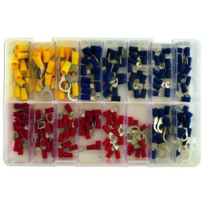 Wiring Connectors - Assorted - Ring & Fork - Box Qty 200