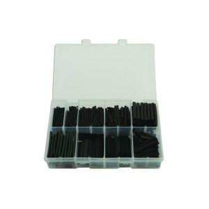 Heat Shrink Tubing - Black - 50mm Assorted - Box Qty 350