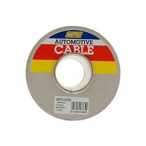 Starter Cable - 1 x 196/0.4mm - Black - 10m