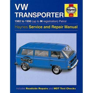 VW Transporter (water-cooled) Petrol (82 - 90) up to H Reg - Car Manual