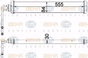 Gearbox Oil Cooler HELLA 8MO 376 750-771