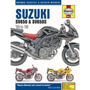 Motorcycle Manual - Suzuki SV650 & SV650S (1999-2005)