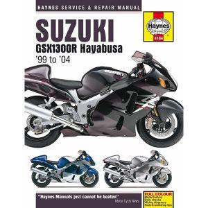 Motorcycle Manual - Suzuki GSX1300R Hayabusa (1999-2004)
