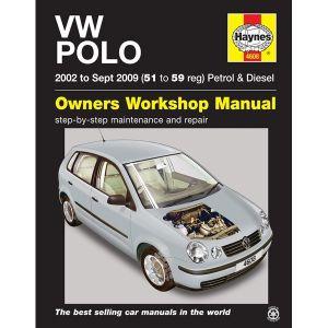 VW Polo Petrol & Diesel 2002 to September 2009 - Car Manual