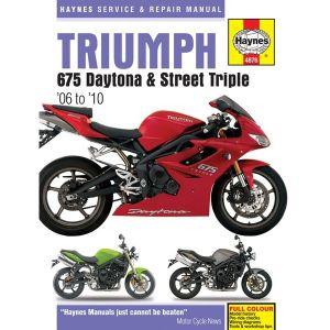 Motorcycle Manual - Triumph 675 (2006-2010)