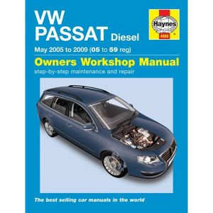 VW Passat Diesel (Jun 05 - 10) 05-60 Reg - Car Manual