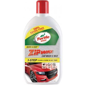 Zip Wax - Wash and Wax - 500ml with 100% Extra Free
