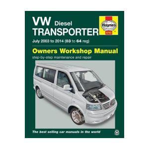 VW T5 Transporter Diesel Manual 2003-2014 - Car Manual
