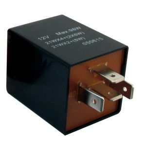 Flasher Relay - 12V - 92A - 4-Pin - Plug Type