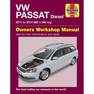 VW Passat Diesel 2011-2014 (60-64) - Car Manual