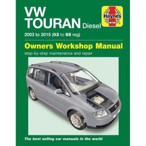 VW Touran Diesel 2003-2015 (03-65) - Car Manual