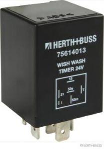 Relay, wipe-/wash interval HERTH+BUSS ELPARTS 75614013