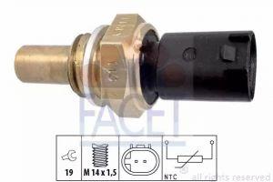 Oil Temperature Sensor FACET 7.3350