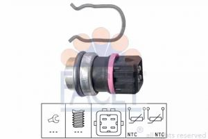 Coolant Temperature Sensor FACET 7.3353
