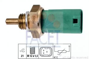 Coolant Temperature Sensor FACET 7.3354