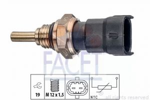Coolant Temperature Sensor FACET 7.3386