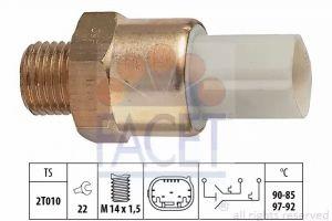 Radiator Fan Temperature Switch FACET 7.5684