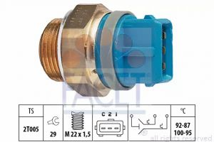 Radiator Fan Temperature Switch FACET 7.5687