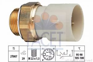 Radiator Fan Temperature Switch FACET 7.5688