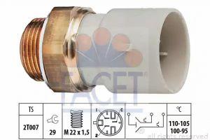 Radiator Fan Temperature Switch FACET 7.5689