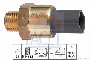 Radiator Fan Temperature Switch FACET 7.5691
