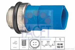 Radiator Fan Temperature Switch FACET 7.5692