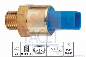 Radiator Fan Temperature Switch FACET 7.5694