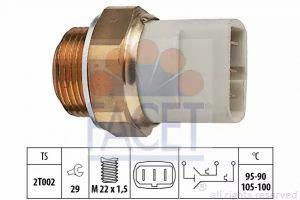 Radiator Fan Temperature Switch FACET 7.5697