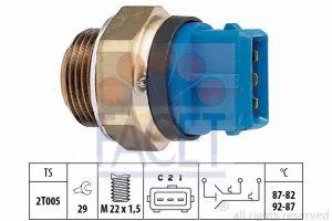 Radiator Fan Temperature Switch FACET 7.5700