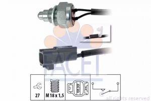 Reverse Light Switch FACET 7.6261