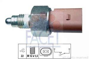 Reverse Light Switch FACET 7.6266
